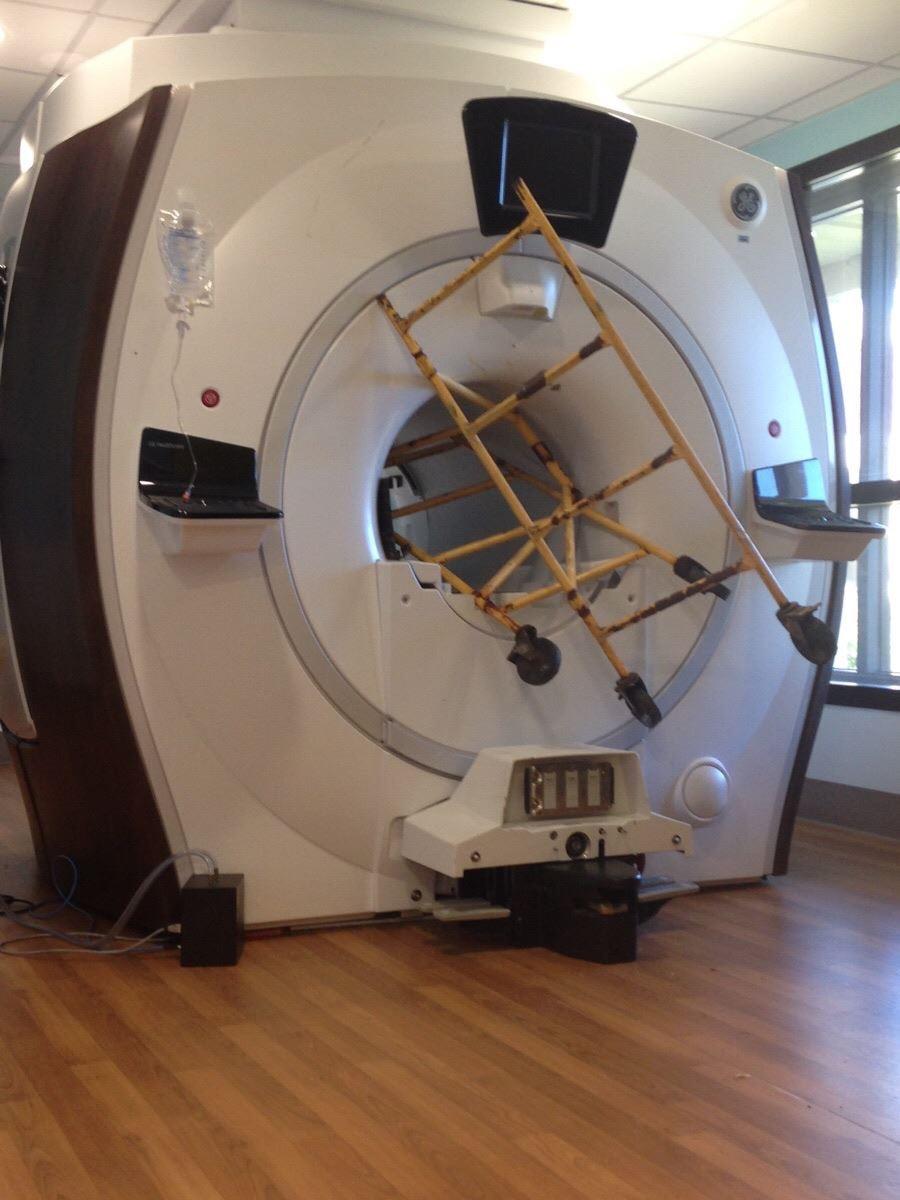 Le danger de l'IRM